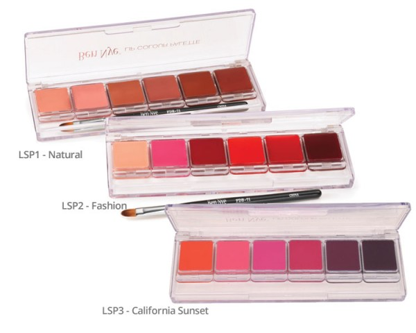 Ben Nye LSP Lip Colour Palette 6er Nummer: LSP1 - Natural
