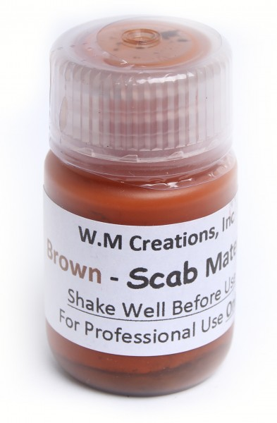 W.M Creations Brown Scab Material 30 ml