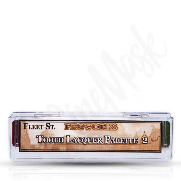 Skin Illustrator Tooth Lacquer Palette 2 -5Farben