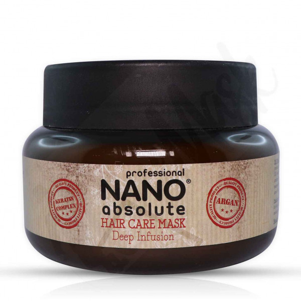 NANO Absolute Hair Care Mask Deep Infusion Argan&Keratin 500ml