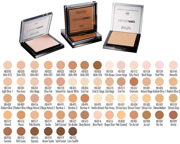 Ben Nye HD MediaPro HD Sheer Foundation 18g Farbe: 204 Ultra Beige